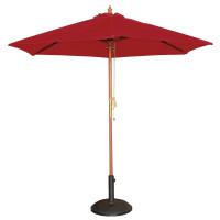 Sonnenschirm Bolero rund, rot - 2,5 Meter
