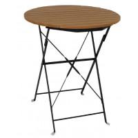 Tisch aus Holzimitat Bolero rund 60cm