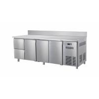 Kühltisch ECO 3/2 mit Aufkantung - GN 1/1