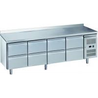Kühltisch ECO 0/8 mit Aufkantung - GN 1/1
