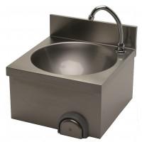 Handwaschbecken ECO 400 x 400 mit 100 mm Aufkantung