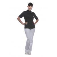 Damenkochjacke Greta, schwarz, Größe: 40