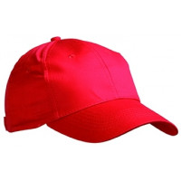 Basecap Action Einheitsgröße, rot