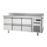 Bäckereikühltisch Premium 0/6 mit Aufkantung