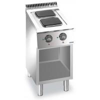 Elektroherd Dexion Lux 700 - 40/73 quadratische Kochflächen