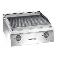 Elektrogrillplatte Dexion Lux 700 - 70/73 gerillt - Tischgerät