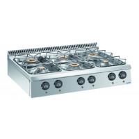 Gasherd Dexion Lux 980 - 120/90 - 54 kW Tischgerät