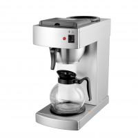 Filterkaffeemaschine Eco 2 Liter, Edelstahl mit Glaskanne