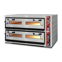 GMG Pizzaofen Classic LUX 6+6 33cm 400V