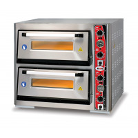 GMG Pizzaofen Classic 4 + 4x30cm mit Thermometer