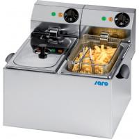 Elektro-Doppel-Fritteuse Profi 4+4 Liter