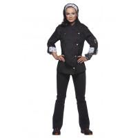 Damenkochjacke ROCK CHEF®, schwarz, Größe: 48