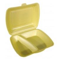 Menübox, EPS, 2-geteilt, gold - 100 Stück