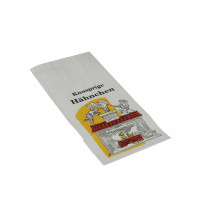 Papstar Hähnchenbeutel, Papier mit PE-Einlage, 1/2 Hähnchen - 100 Stück