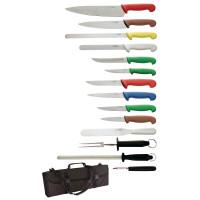 Hygiplas Messerset mit Tasche - 15-teilig