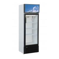 Getränkekühlschrank Eco 188 Liter mit Leuchtaufsatz