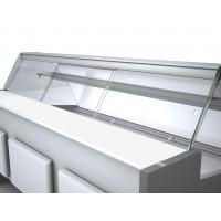 Plexi-Schiebetür Profi250 gerades Frontglas