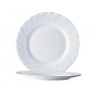 Arcoroc Trianon Teller flach Uni weiß 15,5cm