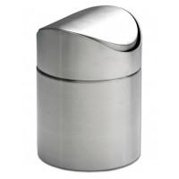 Tischabfalleimer mit Schwingdeckel Durchmesser 9,5x13cm