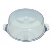 Tortenplatte-Set MEDIUM mit Griff, 2-teilig, Ø30 cm, H: 11cm