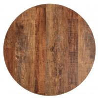 Bolero runde Tischplatte Urban Dark 60cm