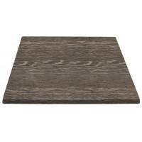 HC295-Bolero viereckige Tischplatte Wenge 70cm