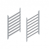 Einhanggestelle für Untergestelle Kombidämpfer