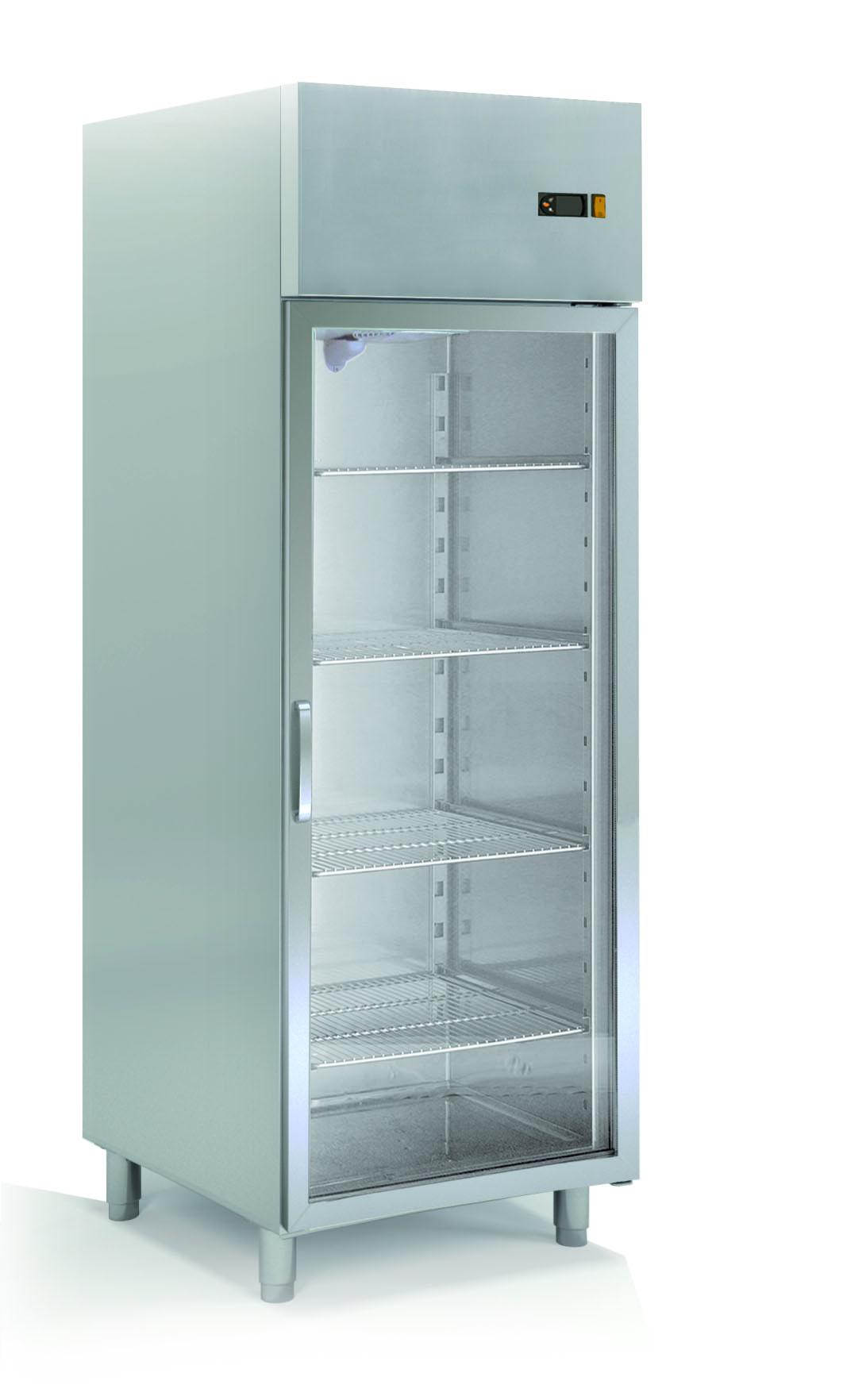 Kühlschrank Profi 700 GN 2/1 - mt Glastür Online-Shop GASTRO-HERO