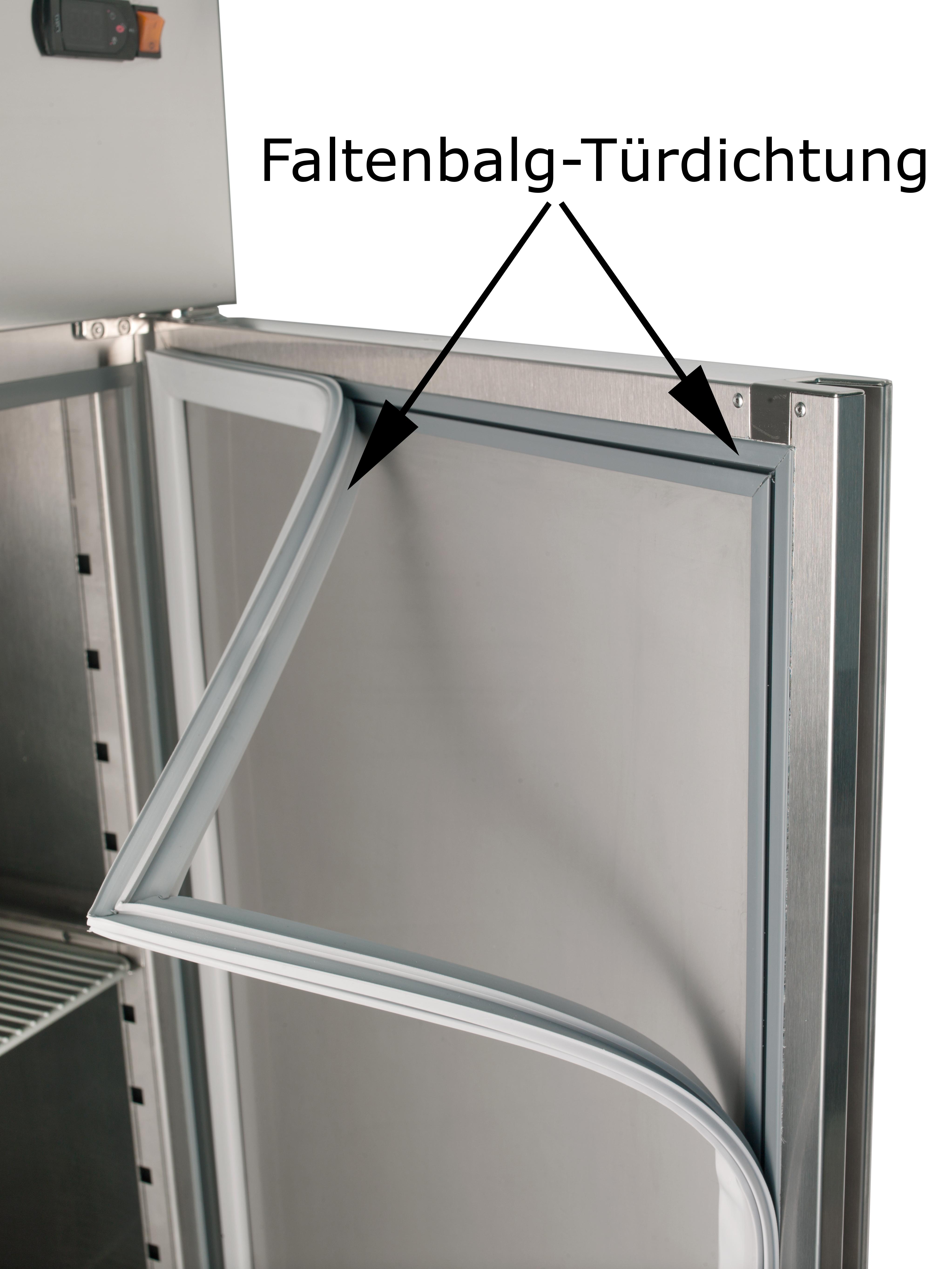 Bäckereitiefkühlschrank Profi 1400 EN mit 2 Türen line Shop