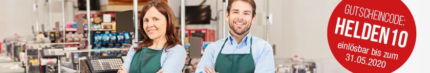 Professionelle Ausstattung für den Einzelhandel
